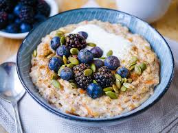 bowl of porridge, healthy breakfast, healthy diet, study tips