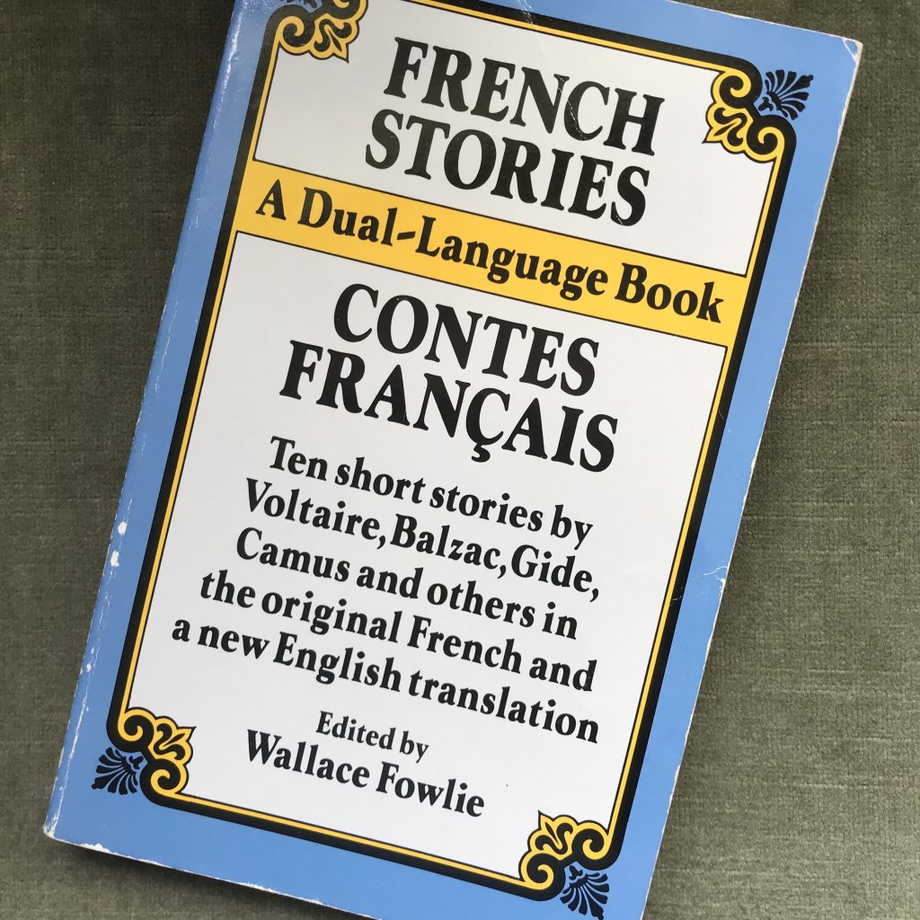 French reading recommendations - French short story book