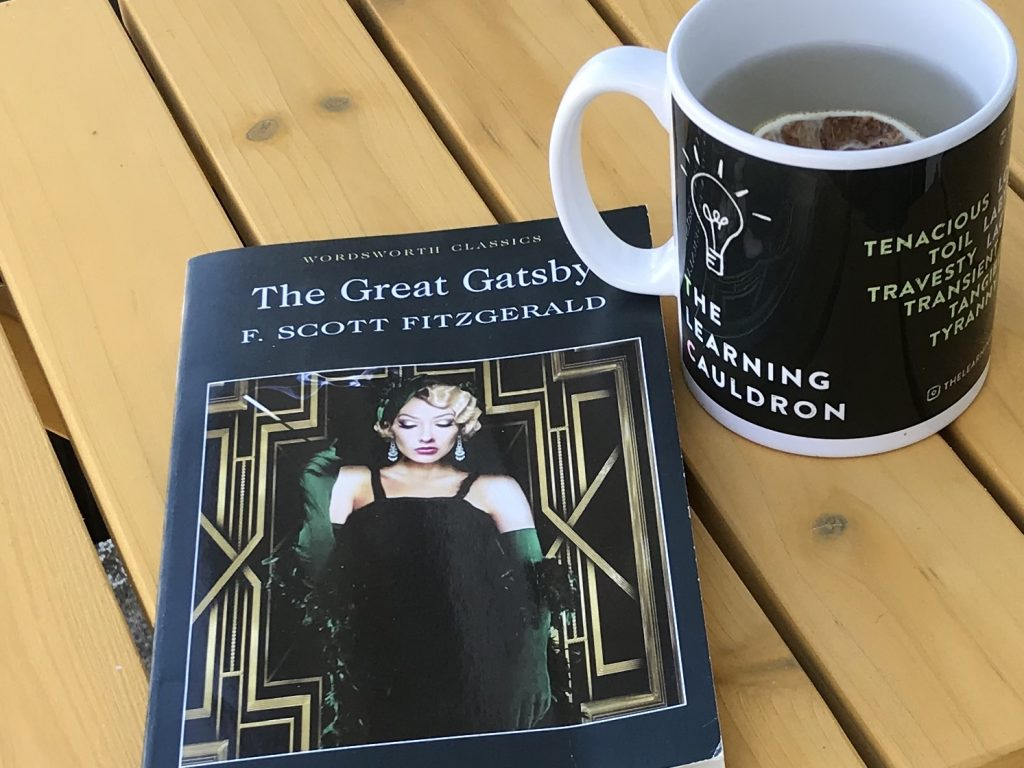 Copy of The Great Gatsby and TLC mug