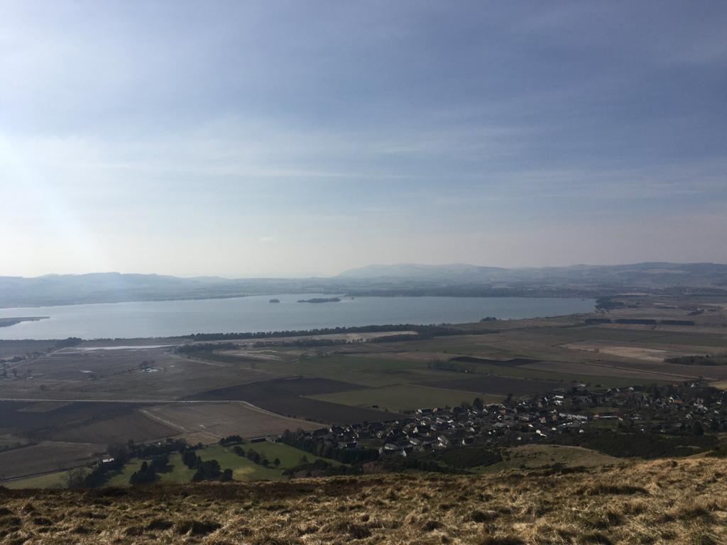 Places to go in Kinross-shire for families - Bishop Hill view
