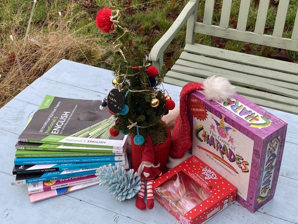 balance study and fun at Christmas